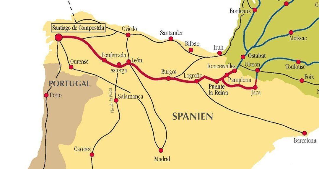 Camino de Santiago: 10 najpopularniejszych punktów początkowych