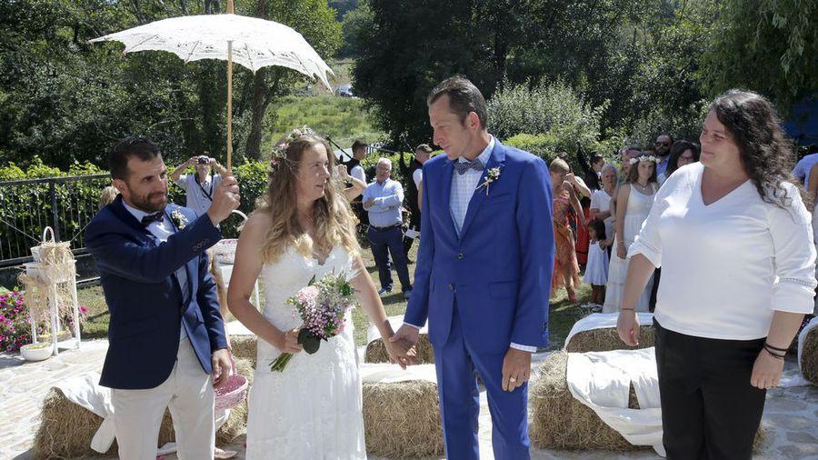 Romantyczny ślub na Camino