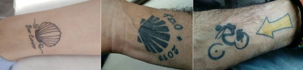 tatuaż camino