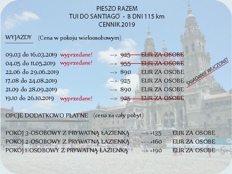 Obniżka cen! Tui do Santiago Razem