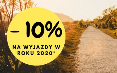 – 10% na wyjazdy w 2020 roku!